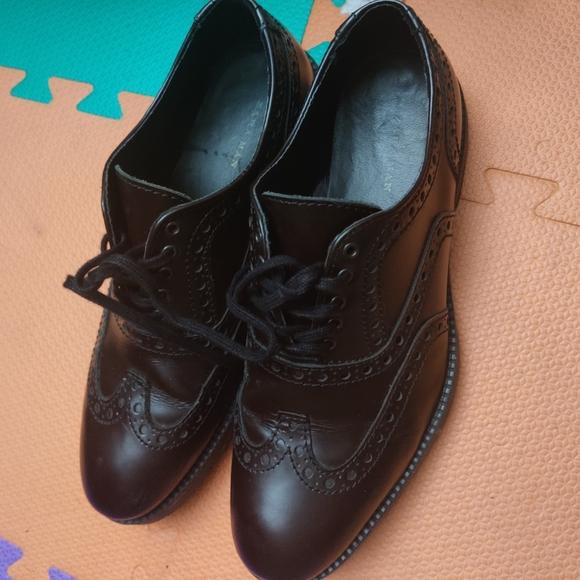 Zara Genuine Leather Oxford